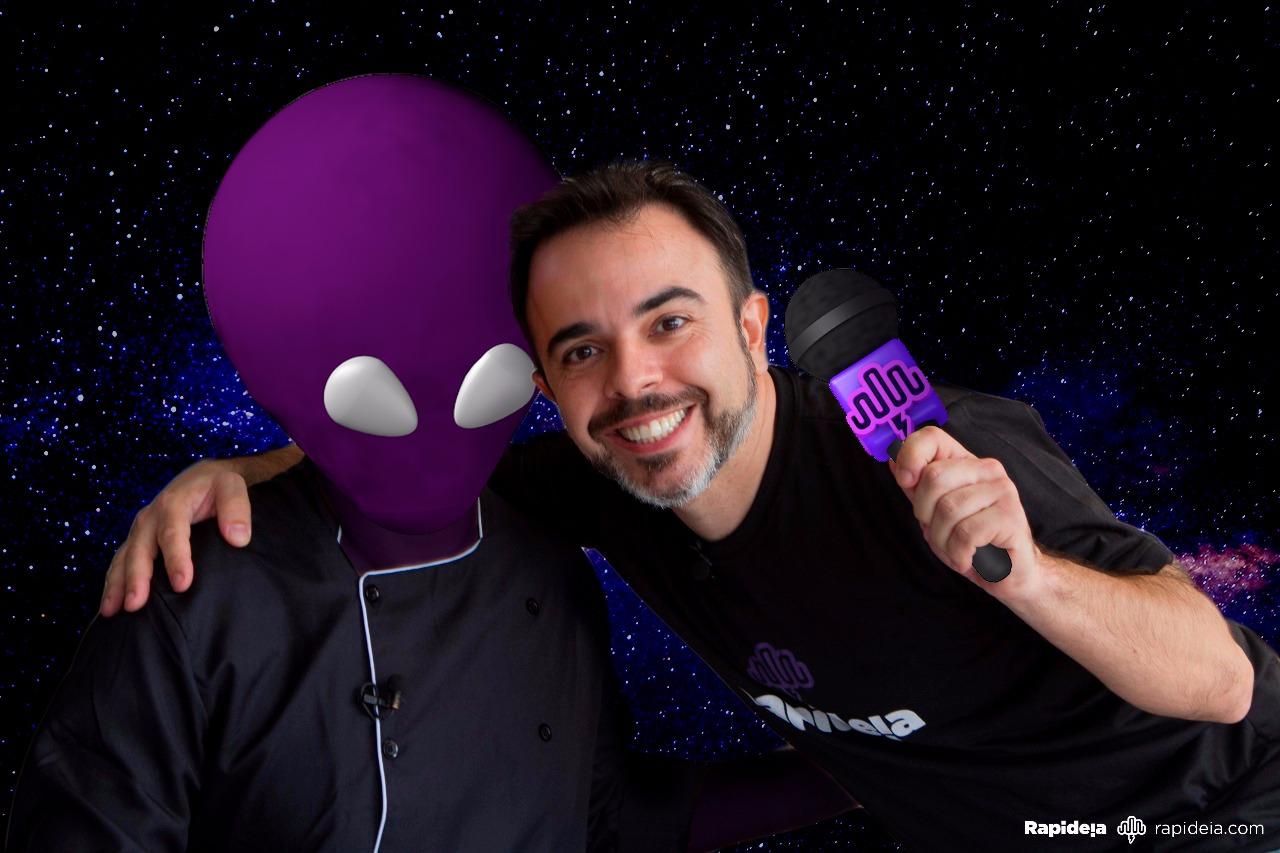 Entrevistando um ET